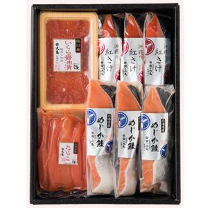 HF60:鮭2種いくらと新たらこ詰合せ