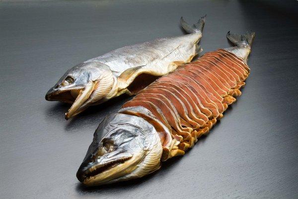 塩引鮭販売開始