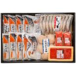 さしみ鮭時不知と季の味覚五色詰合せ VTH145