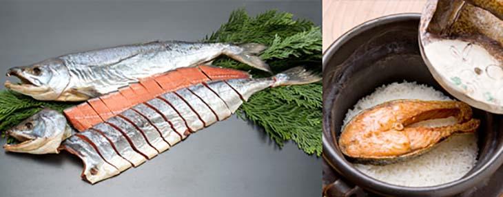丸亀創業来の長寿商品 さしみ鮭